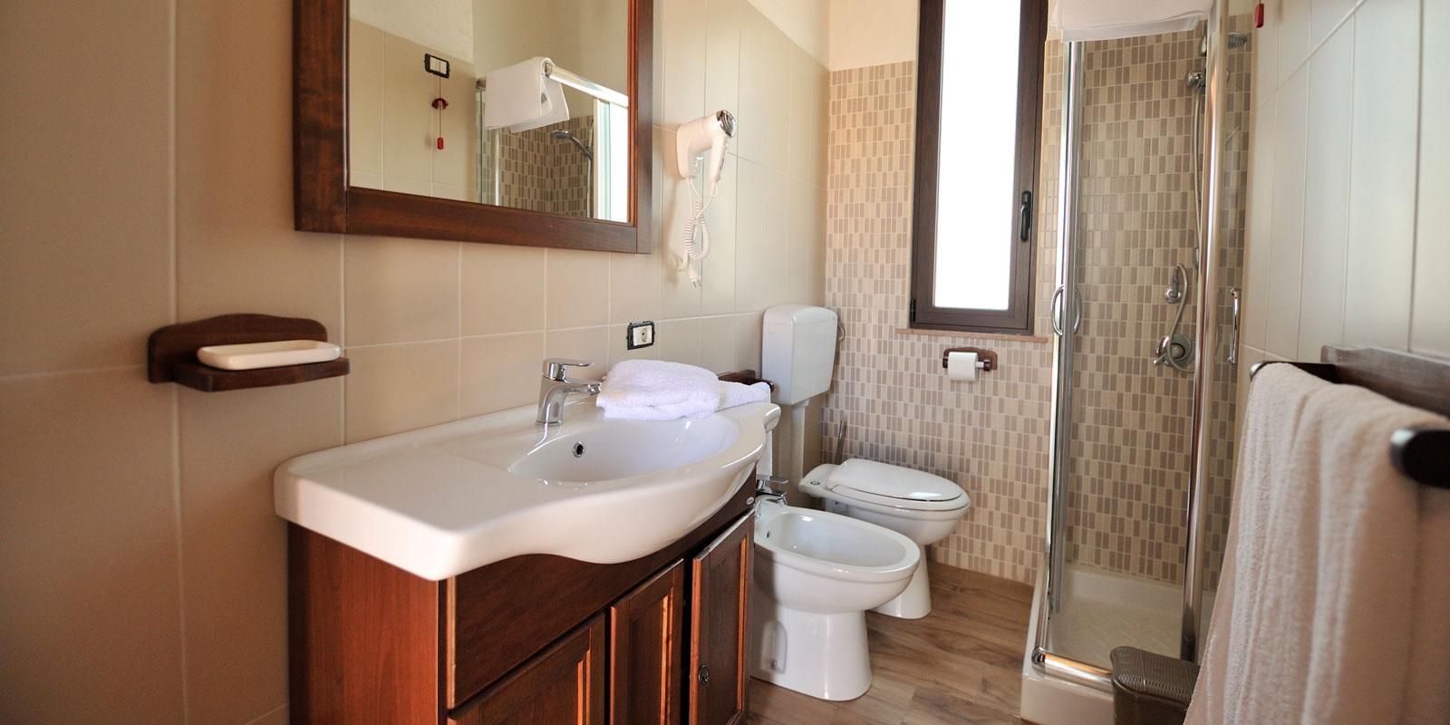 foto bagno camere