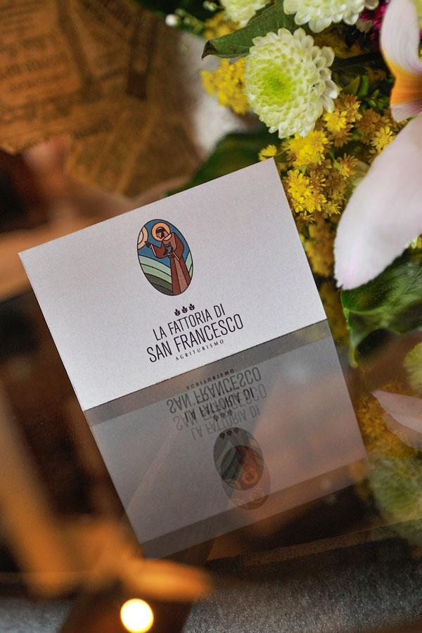 biglietto da visita La Fattoria di San Francesco - Agriturismo